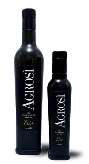 bottiglie di olio agrosi