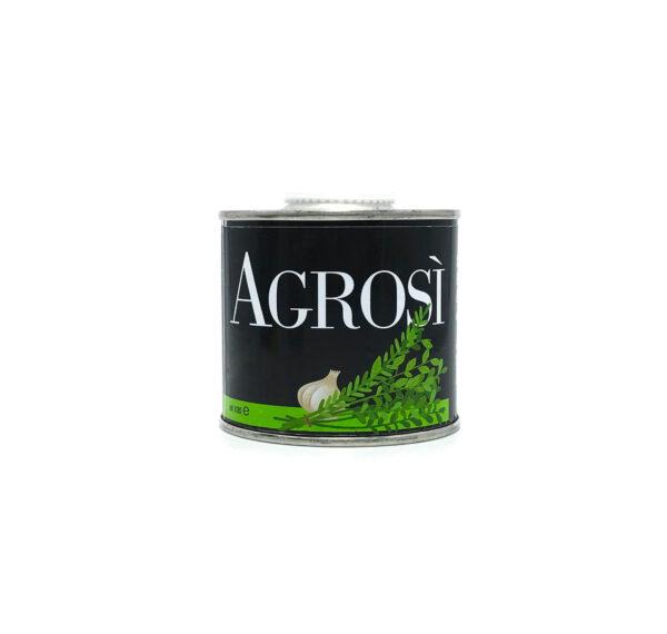 lattina 100ml olio aromatizzato aglio bio azienda agricola agrosi