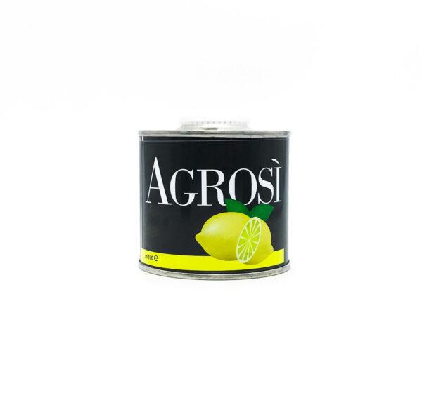lattina 100ml olio aromatizzato limone bio azienda agricola agrosi