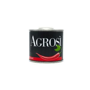 lattina 100ml olio aromatizzato peperoncino bio azienda agricola agrosi
